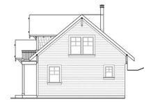Dream House Plan - Craftsman Exterior - Other Elevation Plan #124-554