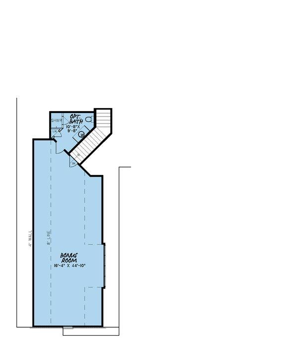 European Floor Plan - Other Floor Plan Plan #923-16