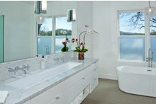Dream House Plan - Ranch Interior - Master Bathroom Plan #888-18