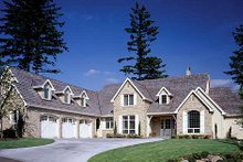 Home Plan - European Exterior - Front Elevation Plan #48-120