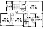 Contemporary Style House Plan - 4 Beds 3.5 Baths 2947 Sq/Ft Plan #126-232