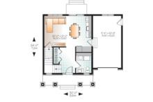 Craftsman Floor Plan - Main Floor Plan Plan #23-2683