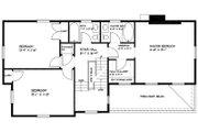 Colonial Style House Plan - 3 Beds 2.5 Baths 1897 Sq/Ft Plan #477-2 Floor Plan - Upper Floor