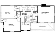 Colonial Style House Plan - 3 Beds 2.5 Baths 1897 Sq/Ft Plan #477-2