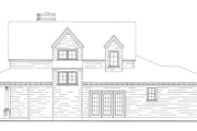 Bungalow Style House Plan - 3 Beds 2.5 Baths 2087 Sq/Ft Plan #410-241 Exterior - Other Elevation