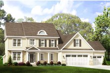 Home Plan - Traditional Exterior - Front Elevation Plan #1010-226