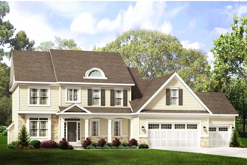 Traditional Exterior - Front Elevation Plan #1010-226