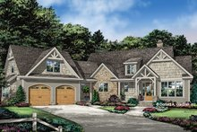 Dream House Plan - Ranch Exterior - Front Elevation Plan #929-1088