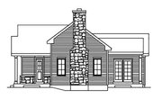 Cottage Style House Plan - 1 Beds 1 Baths 923 Sq/Ft Plan #22-565 Exterior - Other Elevation