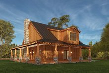 Dream House Plan - Craftsman Exterior - Rear Elevation Plan #923-178