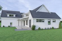 Dream House Plan - Farmhouse Exterior - Other Elevation Plan #1070-42