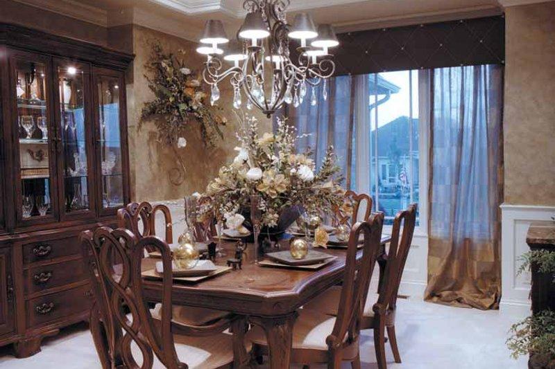 Country Interior - Dining Room Plan #46-687 - Houseplans.com