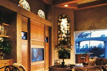 Home Plan - Mediterranean Interior - Family Room Plan #930-54
