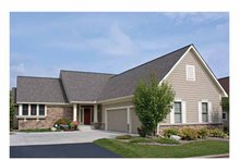 House Plan Design - Ranch Exterior - Front Elevation Plan #51-1115