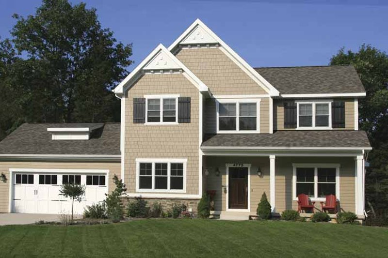 Country Exterior - Front Elevation Plan #928-157