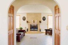 Architectural House Design - Contemporary Interior - Family Room Plan #72-872