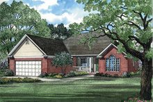 Architectural House Design - Ranch Exterior - Front Elevation Plan #17-2637
