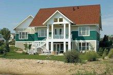Craftsman Exterior - Rear Elevation Plan #930-356