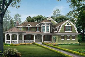 Dream House Plan - Craftsman Exterior - Front Elevation Plan #132-458