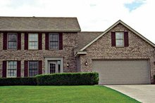 House Plan Design - Colonial Exterior - Front Elevation Plan #51-802