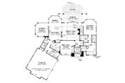 Craftsman Style House Plan - 4 Beds 3 Baths 2498 Sq/Ft Plan #929-973 Floor Plan - Main Floor Plan
