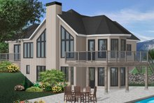 House Plan Design - European Exterior - Front Elevation Plan #23-2320