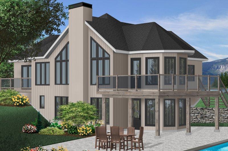 Architectural House Design - European Exterior - Front Elevation Plan #23-2320