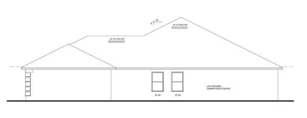 Traditional Floor Plan - Other Floor Plan Plan #1058-48