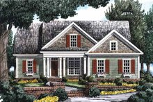 House Plan Design - Country Exterior - Front Elevation Plan #927-698