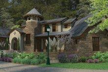 House Plan Design - Cottage Exterior - Front Elevation Plan #120-244