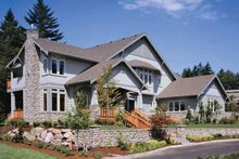 Dream House Plan - Craftsman Exterior - Front Elevation Plan #48-150