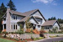 Architectural House Design - Craftsman Exterior - Front Elevation Plan #48-150