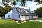 Farmhouse Style House Plan - 3 Beds 2 Baths 1982 Sq/Ft Plan #923-107