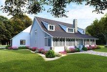 Dream House Plan - Farmhouse Exterior - Rear Elevation Plan #923-107