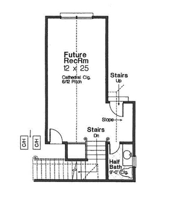 Home Plan - Country Floor Plan - Other Floor Plan #310-1273