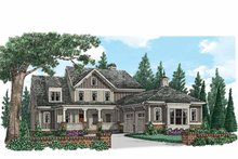 House Design - Country Exterior - Front Elevation Plan #927-939