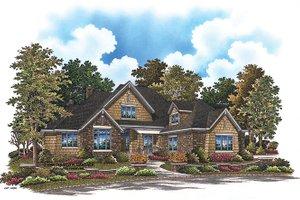 Cottage Exterior - Front Elevation Plan #929-927