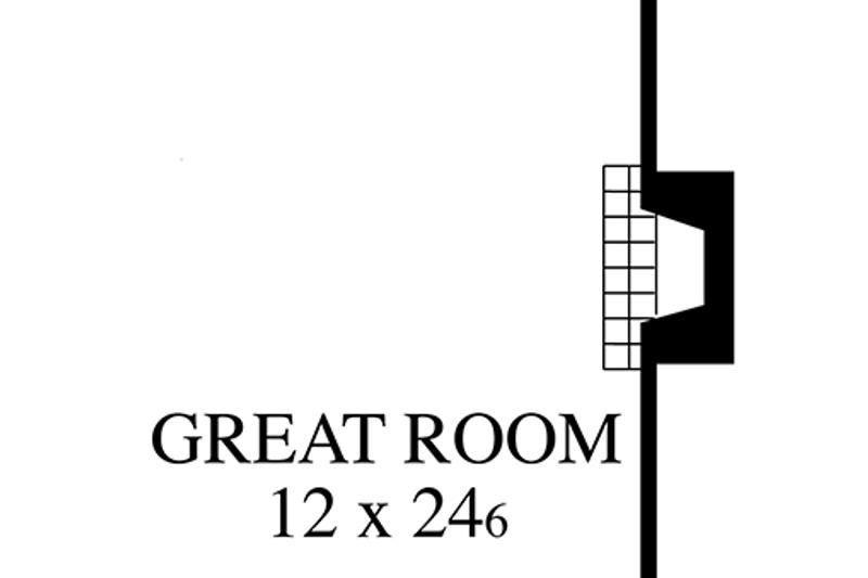 Colonial Interior - Family Room Plan #1053-66 - Houseplans.com