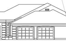 House Design - Mediterranean Exterior - Other Elevation Plan #124-132