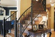 Home Plan Design - Mediterranean Interior - Entry Plan #927-202
