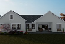 Traditional Exterior - Rear Elevation Plan #1060-59