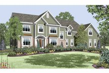Home Plan - Traditional Exterior - Front Elevation Plan #328-458