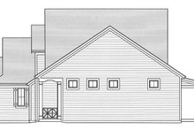 House Plan Design - Traditional Exterior - Other Elevation Plan #46-850