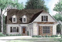 Home Plan - Country Exterior - Front Elevation Plan #1054-10