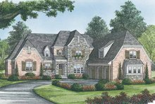 House Plan Design - European Exterior - Front Elevation Plan #453-583