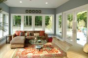 Prairie Style House Plan - 3 Beds 3 Baths 4322 Sq/Ft Plan #928-38 Interior - Family Room