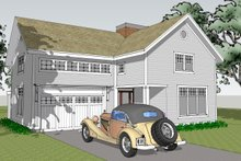 Country Exterior - Other Elevation Plan #481-6