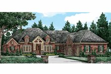 European Exterior - Front Elevation Plan #927-401