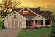 House Plan Design - Ranch Exterior - Front Elevation Plan #70-1044