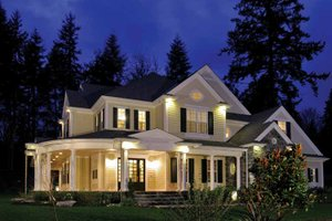Home Plan - Country Exterior - Front Elevation Plan #132-352
